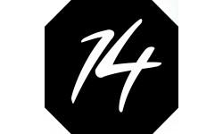 Sticker / autocollant : numéroderue14 - architecte