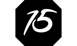Sticker / autocollant : numéroderue15 - architecte