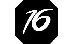 Sticker / autocollant : numéroderue16 - architecte