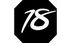 Sticker / autocollant : numéroderue18 - architecte