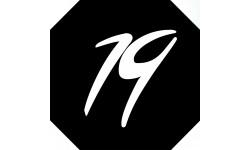 Sticker / autocollant : numéroderue19 - architecte