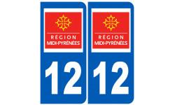 numero immatriculation 12 (region)