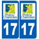 numero immatriculation 17 region