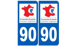 numero immatriculation 90 (region)