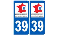 numero immatriculation 39 (region)