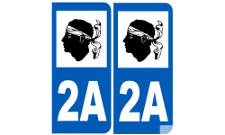 numero immatriculation 2A (Corse-du-Sud)