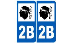 numero immatriculation 2B (Haute-Corse)