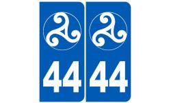 numero immatriculation 44 trisckel (Loire-Atlantique)