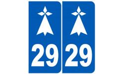 numero immatriculation 29 hermine (Finistère)