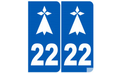 numero immatriculation 22 hermine (Côtes-d'Armor)