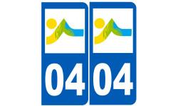 numero immatriculation 04 (Alpes-de-Haute-Provence)