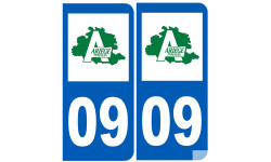 numero immatriculation 09 (Ariège)