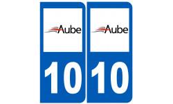 numero immatriculation 10 (Aube)
