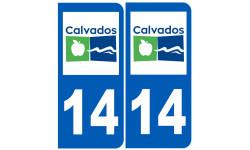 numero immatriculation 14 (Calvados)