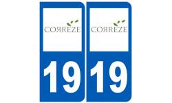 numero immatriculation 19 (Corrèze)