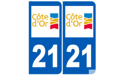 numero immatriculation 21 (Côte-d'Or)