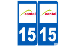 numero immatriculation 15 (Cantal)