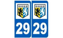 numero immatriculation 29 (Finistère)