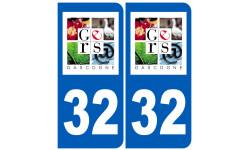 numero immatriculation 32 (Gers)