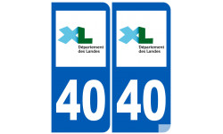 numero immatriculation 40 (Landes)