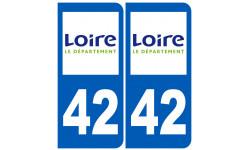 numero immatriculation 42 (Loire)
