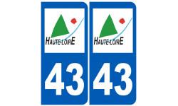 numero immatriculation 43 (Haute-Loire)