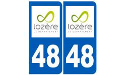 numero immatriculation 48 (Lozère)