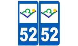 numero immatriculation 52 (Haute-Marne)