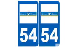 numero immatriculation 54 (Meurthe-et-Moselle)
