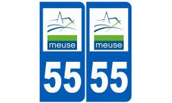 numero immatriculation 55 (Meuse)