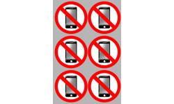 Stickers / autocollants éteindre son smartphone