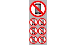 autocollants éteindre son smartphone 3
