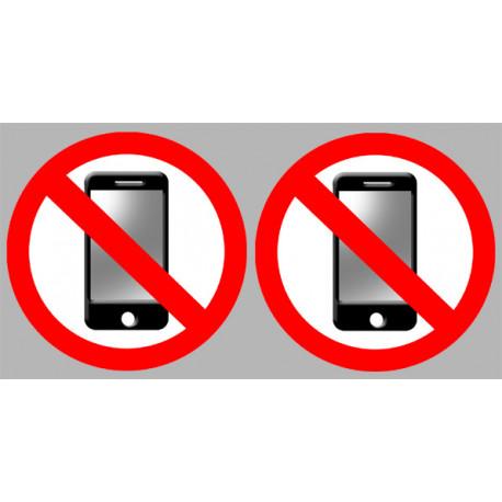 Stickers / autocollants éteindre son smartphone 4