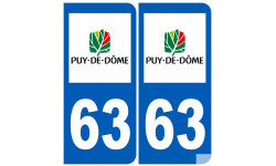 numero immatriculation 63 (Puy-de-Dôme)