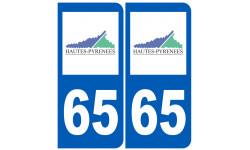numero immatriculation 65 (Hautes-Pyrénées)