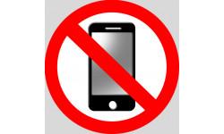 Stickers / autocollants éteindre son smartphone 5