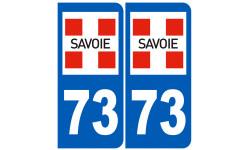 numero immatriculation 73 (Savoie)