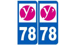 numero immatriculation 78 (Yvelines)