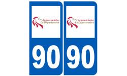 numero immatriculation 90 (Territoire de Belfort)