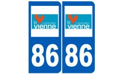numero immatriculation 86 (Vienne)