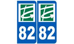 numero immatriculation 82 (Tarn-et-Garonne)