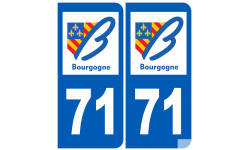 numero immatriculation 71 (region)