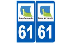 numero immatriculation 61 (region)