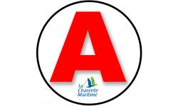 stickers / autocollant A Charente-maritime