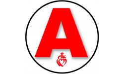 Sticker / autocollant : A 85 La Vendéen 1 - 15cm