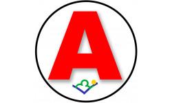 stickers / autocollant A de la Haute Marne