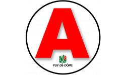 stickers / autocollant A du Puy de Dôme
