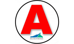 stickers / autocollant A des Hautes pyrénées