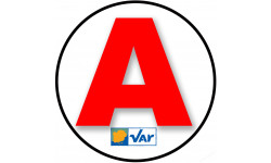 stickers / autocollant A du Var