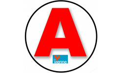 stickers / autocollant A de la Vienne